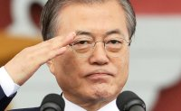 Moon vows firm response to potential security threats