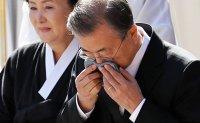 Pope Francis, Kim Jong-un send condolences to Moon