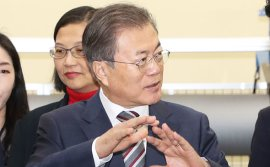 Moon praises Seoul's diversification in sourcing core materials
