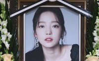 K-pop stars cancel events to mourn Goo Ha-ra's death