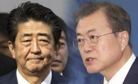 Moon to hold bilateral summit with Abe in China on Dec. 24: Cheong Wa Dae
