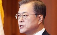 Moon retains push for talks with North Korea