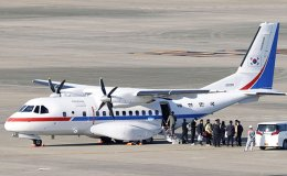 South Korean presidential plane arrives back from Japan with 7 evacuees aboard
