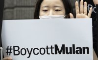 'Boycott Mulan' spreads online in Korea