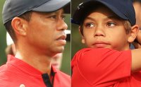 Woods and son finish five behind triumphant Team Thomas in family golf event
