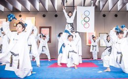 Taekwondo demonstration team to perform in Seoul air show