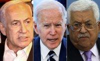 Biden expresses 'grave concern' to Netanyahu, tells Abbas rocket fire must 'cease'