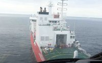 Korean icebreaker crew help isolated Chinese researchers