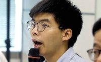 Joshua Wong asks Taiwanese to support Hong Kong protests