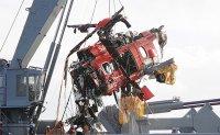 2 bodies retrieved, fuselage salvaged in chopper crash near Dokdo