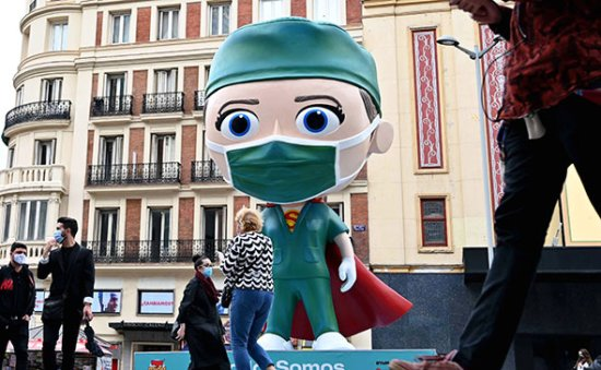 Madrid at 'serious risk' without tougher COVID-19 rules