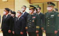 South Korea, China hold ceremony repatriating Chinese troop remains