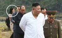 Kim Jong-un inspects flood recovery efforts with sister
