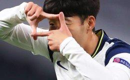 Son extends scoring streak at Europa League