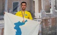 Korean Kazak joins peace campaign through taekwondo