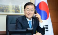 Top diplomats of Korea, Iran discuss frozen assets, detained vessel