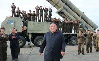 North Korea unveils new 'super-large' multiple rocket launcher