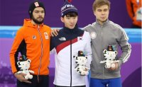 Dutch skater Sjinkie Knegt in middle finger controversy