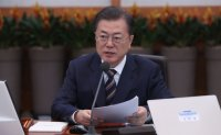 Moon urges 'special' economic policy measures against virus-caused 'emergency situations'