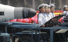 North Korea may conduct underwater-launched missile test