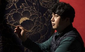 [INTERVIEW] Buddhist artist adds modern twist to traditional paintings