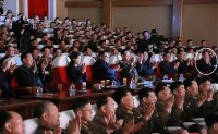 'Purged' N. Korean official appears at show