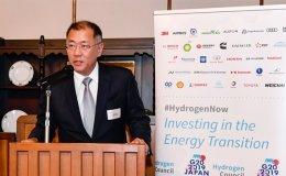 Hyundai EVC Chung promotes benefits of 'hydrogen society'