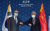 Wang says his visit amid pandemic shows importance China places on relations with South Korea