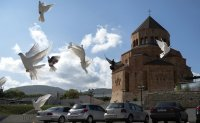 Armenia, Azerbaijan agree on ceasefire in Nagorno-Karabakh