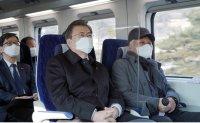 Eco-friendly high-speed train