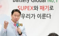SK chairman bets high on EV battery unit