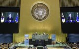 In UN speech, Moon calls for global cooperation in fight against virus