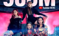 BLACKPINK first K-pop band to record 900 million music video views