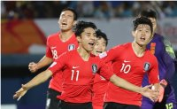 Korea leaves it late to down China