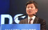 Korean football honcho Chung Mong-gyu chosen for 3rd term