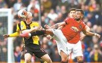 Fernandes on spot as Man United beats Watford 3-0 in EPL