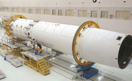 Korea's first locally built rocket