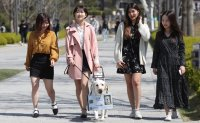 Guide dog becomes honorary student at Yonsei University [PHOTOS]