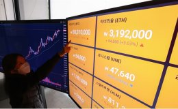 Cryptocurrency turnover in Korea doubles over past month
