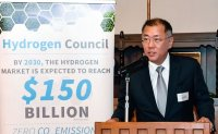 Chung urges G20 nations to join 'hydrogen economy'