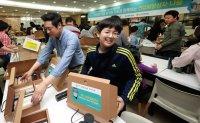 Daewoo E&C employees volunteer to help neighbors in need