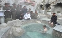 Kim Jong-un inspects 'socialist' spa resort in Yangdok [PHOTOS]