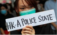 Hundreds take to Hong Kong streets ahead of new round of weekend protests