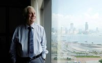 Hong Kong's last British governor likens city's democrats to Mandela, King