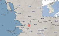 Minor quake hits Korea's western coastal region