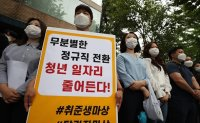 Division taking hold in Korean society