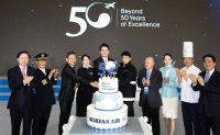 Korean Air marks 50th anniversary with vision for growth