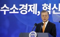 President Moon declares move toward 'hydrogen economy'