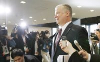US envoy on North Korea to ask China to restart denuke talks