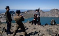 Fall picnic to Mount Paektu in North Korea [PHOTOS]